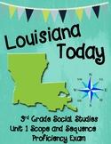 Third Grade Louisiana Social Studies Unit 1 Scope and Sequence Proficiency Exam