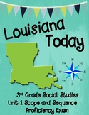 Third Grade Louisiana Social Studies Unit 1 Scope and Sequ