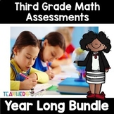 Third Grade Math Assessment Bundle