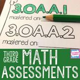 Third Grade Math Assessments - Common Core Math Assessments