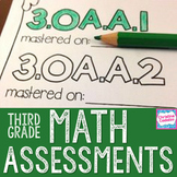 3rd Grade Math Assessments | Distance Learning | Common Core
