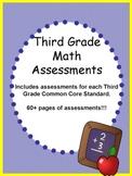 Third Grade Math Assessments Common Core