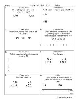 3rd Grade Math Assessments | 3rd Grade Math Quizzes