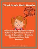 Third Grade Math Test Prep Review Bundle