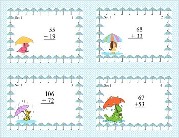 Third Grade Math Bundle- Spring Theme-5 CCSS Addressed