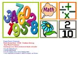 Third Grade Math CCSS Problem Solving: Word Problems, Solu