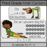 Third Grade Math Center: 3rd Grade Math Game BUNDLE