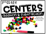 Third Grade Math Centers Addition and Subtraction