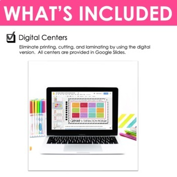 Third Grade Math Centers Addition and Subtraction ~ Digital for Google Classroom