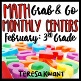 Third Grade Math Centers for February