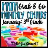 Third Grade Math Centers for January