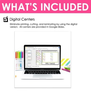 Third Grade Math Centers Division ~ Digital for Google Classroom