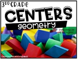 Third Grade Math Centers Geometry