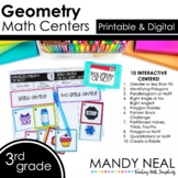 Third Grade Math Centers Geometry ~ Digital