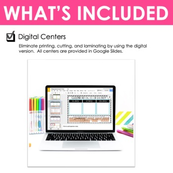 Third Grade Math Centers Measurement and Time ~ Digital for Google Classroom