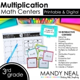 Third Grade Math Centers Multiplication ~ Digital