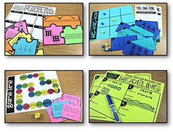 Third Grade Math Centers Multiplication and Division Concepts and Models