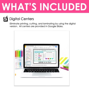 Third Grade Math Centers Represent and Interpret Data ~ Digital