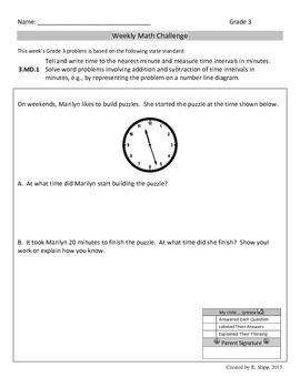 Third Grade Math Challenges