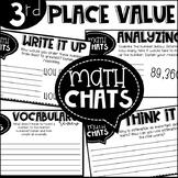 Third Grade Math Chats Place Value