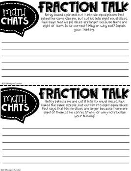 Third Grade Math Chats Spiraled Skills Review Test Prep