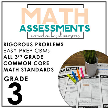 Third Grade Math Assessments