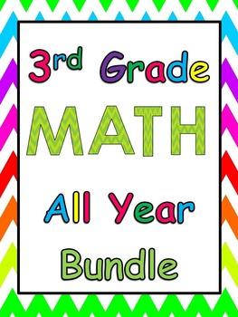 Third Grade Math Common Core Bundle