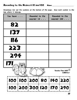 Fall Math for Third Grade
