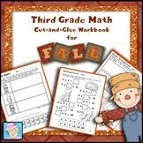 Fall Math Worksheets 3rd Grade Math Worksheets NO PREP