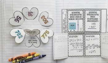 3rd Grade Math Common Core Foldable Activities