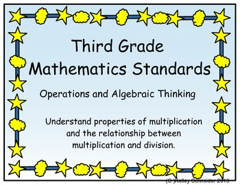 Third Grade Math Common Core I Can Statements