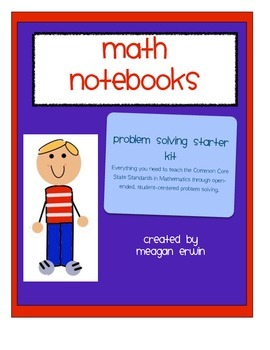 3rd Grade CCSS Math Problem Solving Notebook Starter Kit
