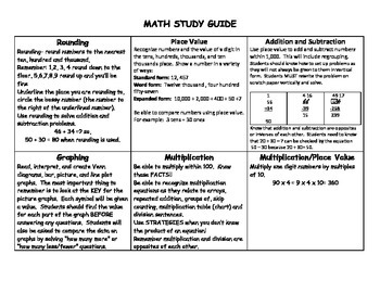 Third Grade Math Common Core Test Prep