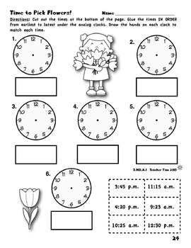 Spring Math Worksheets 3rd Grade | Third Grade Math Review ...