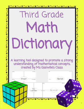 Third Grade Math Dictionary