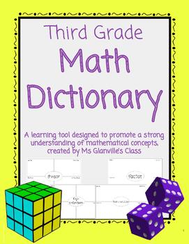 Third Grade Math Dictionary