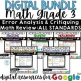 3rd Grade Math Review   Digital Agree or Disagree