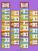 Multiplication and Division Fact Fluency Emoji Clip Chart Bundle
