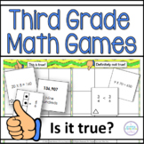 Third Grade Math Games Thumbs Up