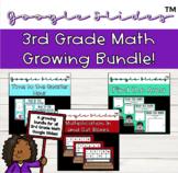 Third Grade Math Google Slides™️ Growing Bundle
