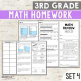 Third Grade Math Homework - Set 4