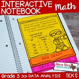 Third Grade Math Interactive Notebook: Data Analysis- Graphing (TEKS)
