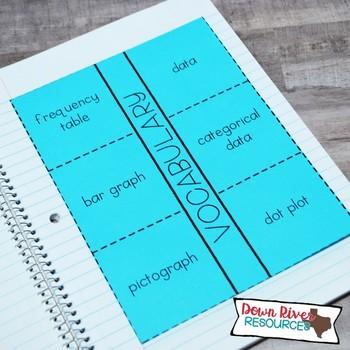 Third Grade Math Interactive Notebook: Data Analysis- Graphing (TEKS)