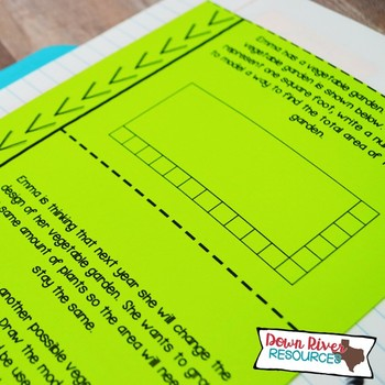 Third Grade Math Interactive Notebook: Geometry-Attributes of 2-D Figures (TEKS)