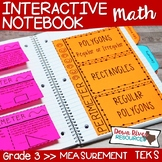 Third Grade Math Interactive Notebook: Measurement (TEKS) 3rd Grade Measurement
