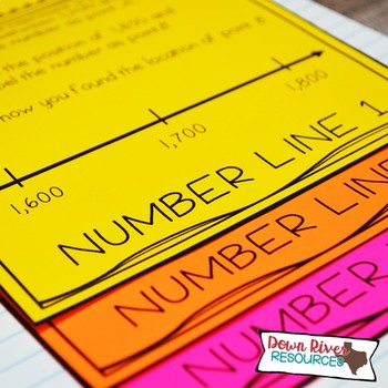 Third Grade Math Interactive Notebook: Whole Numbers - Place Value (TEKS)