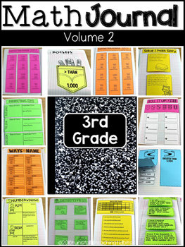 Third Grade Math Journal Volume 2 Addition and Subtraction