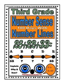 Math Number Sense Challenge Activity Gifted Third Grade