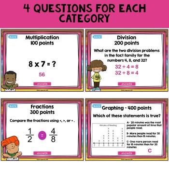 Third Grade Math PowerPoint Game Show
