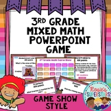 3rd Grade Math Test Prep PowerPoint Game Show